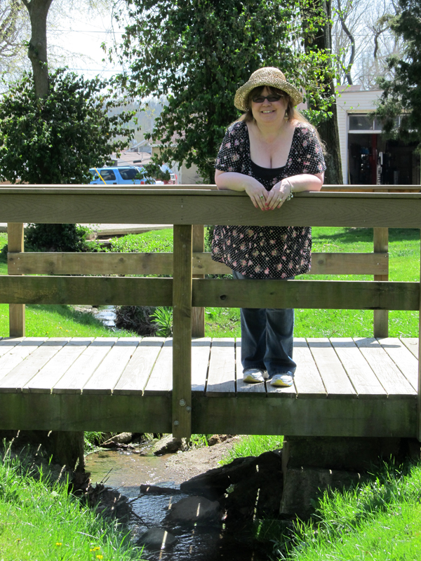 2014 04 17 Me on the bridge Bellbrock Park