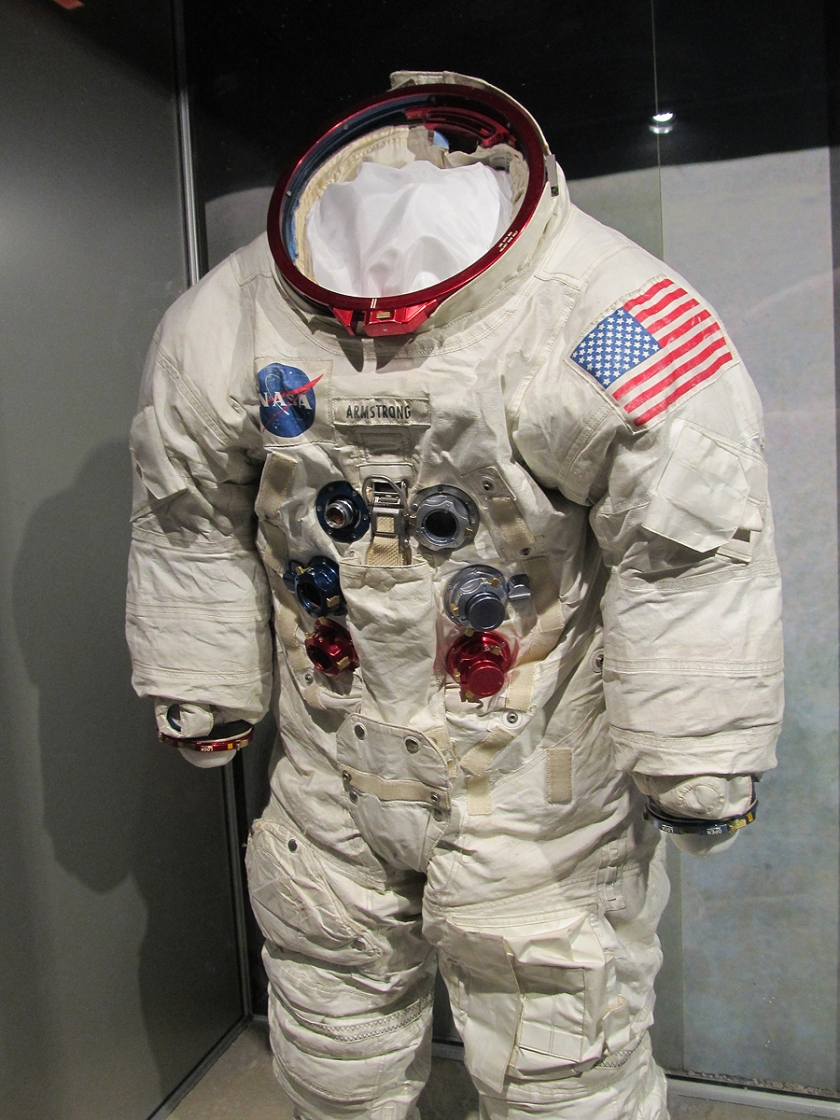Neil Armstrong's backup suit for the Apollo XI mission.