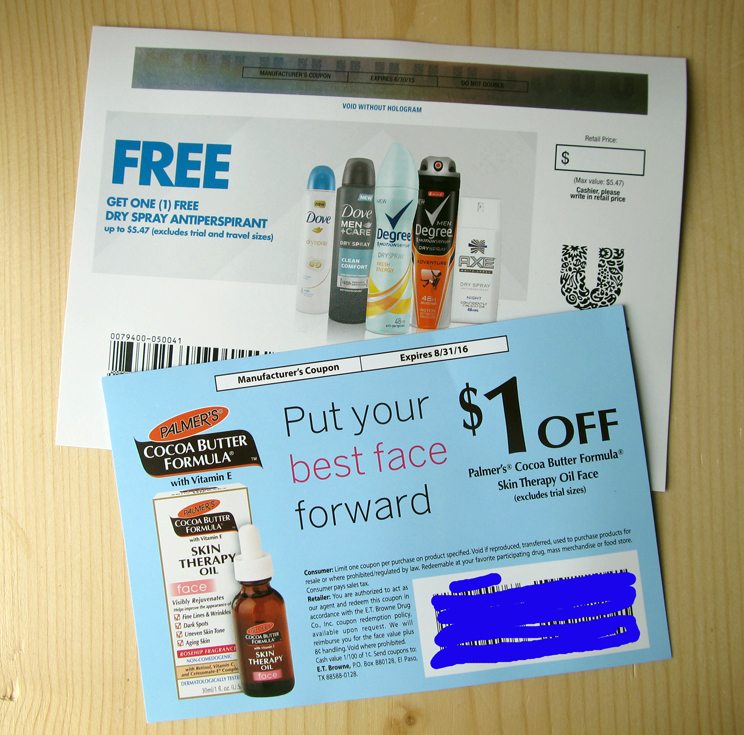 And other coupons...