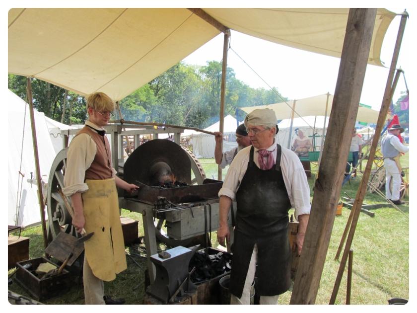 2015 09 05 New Boston Blacksmith