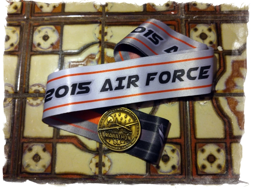 2015 09 18 Air Force 5K_medal