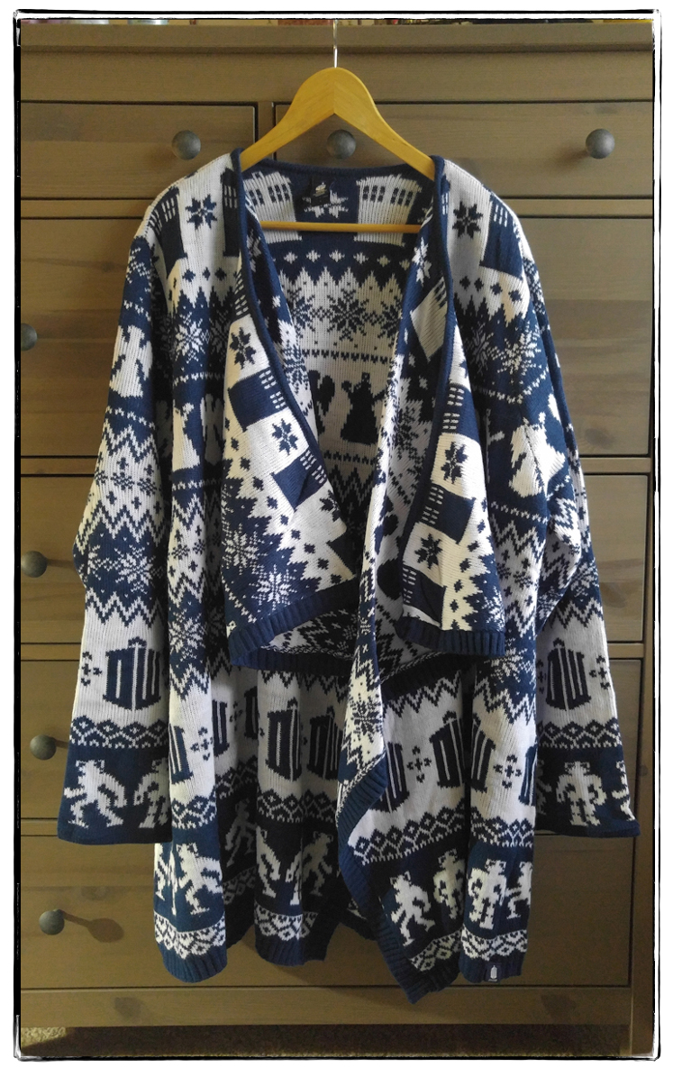 2015 Doctor Who sweater frame