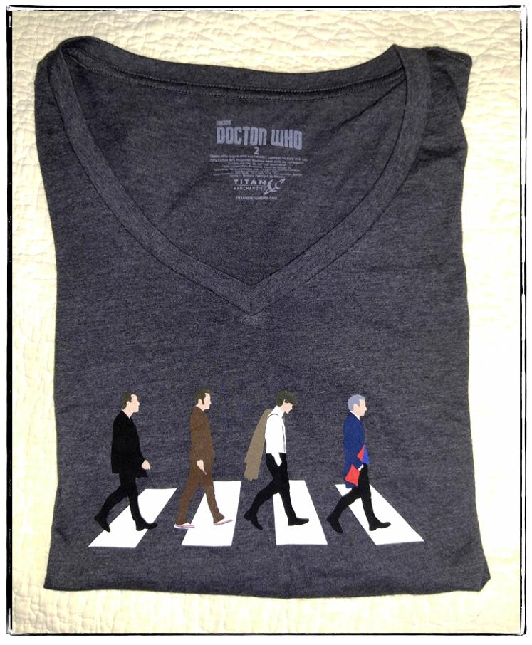 2015 Doctor Who teeshirt frame