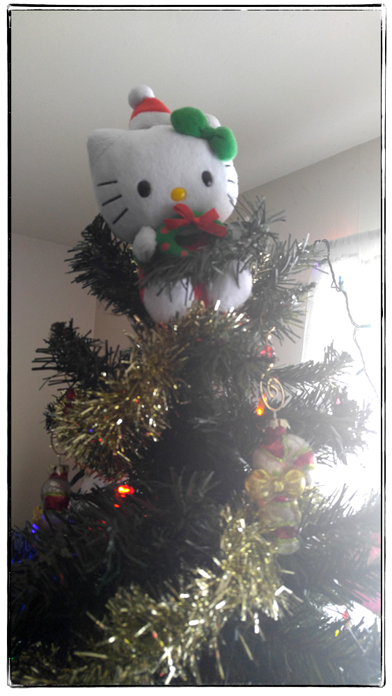 2015 Hello Kitty Tree Topper