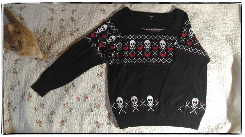 2015 Skull sweater