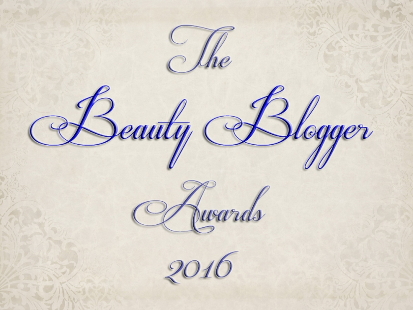 Beauty Blogger Awards 2016