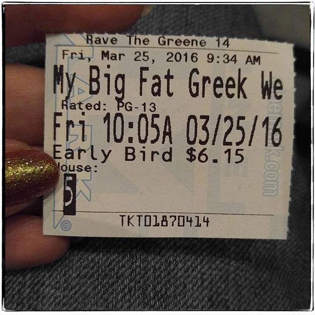 2016 03 25 Big Fat Greek Wedding mod