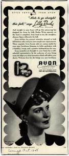 1941 - Lilly Dache Avon